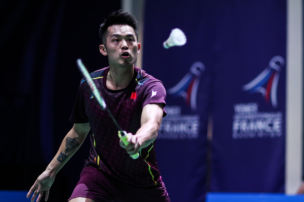 China's Lin Dan crashes out of BWF French Open