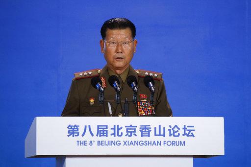S.Korean, DPRK defense officials have briefing meeting on sidelines of Beijing Xiangshan Forum