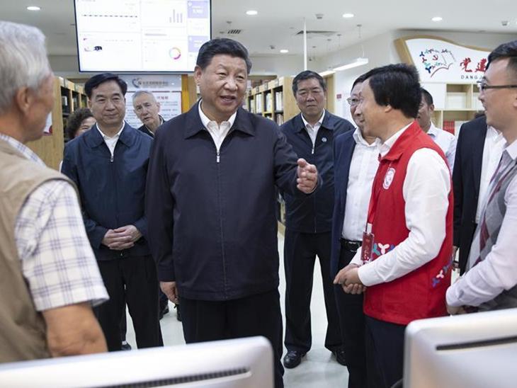 President Xi Jinping inspects Shenzhen