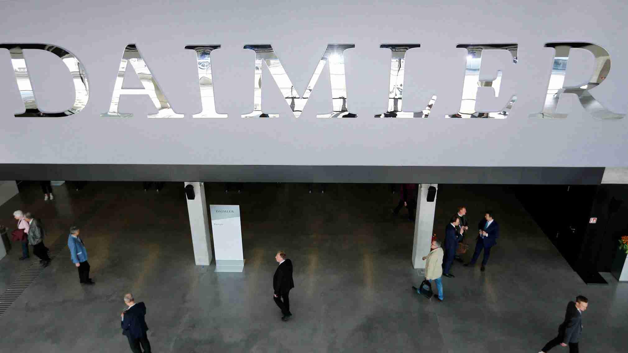 Daimler profits hit by diesel scandal