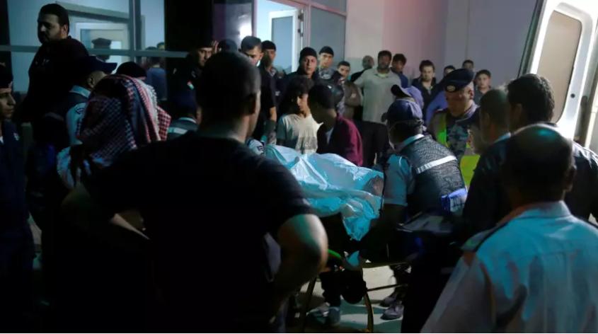 18 killed as Jordan flash flood sweeps away students on trip