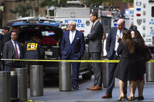 """Powder in bomb package sent to CNN """"not a biological threat"""": FBI official"""