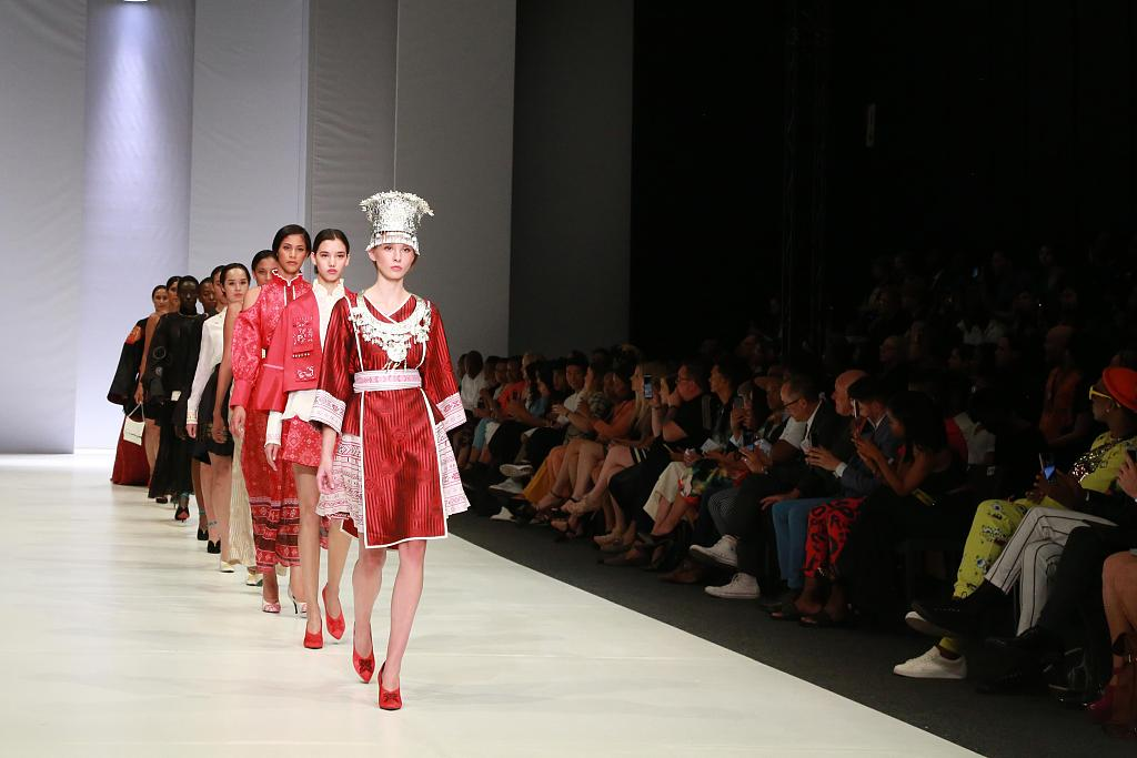 Designers' works featured at BRICS Fashion Show