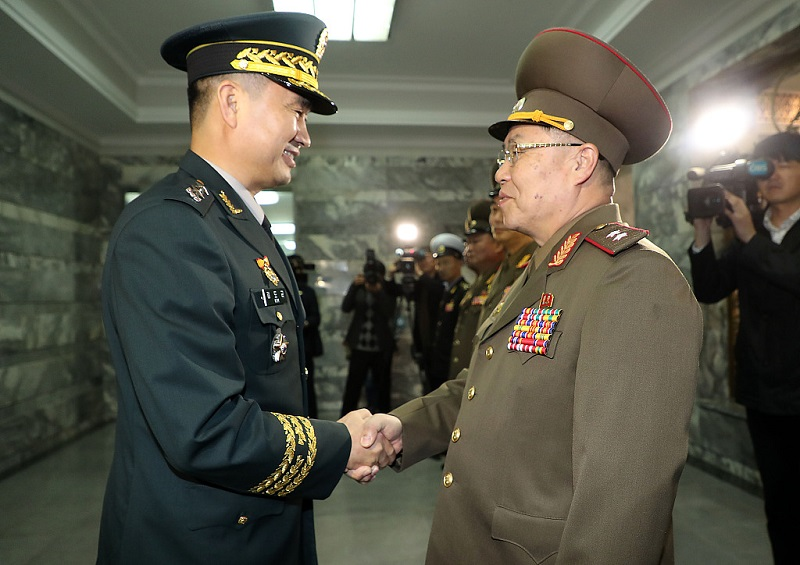 S.Korea, DPRK agree to withdraw 11 guard posts in border area by late November
