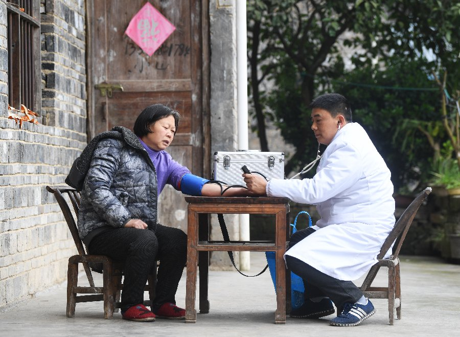 China boosts health insurance for impoverished patients