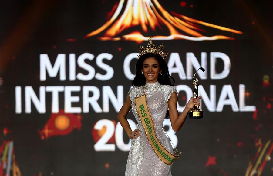 Miss Grand International 2018 held in Yangon, Myanmar