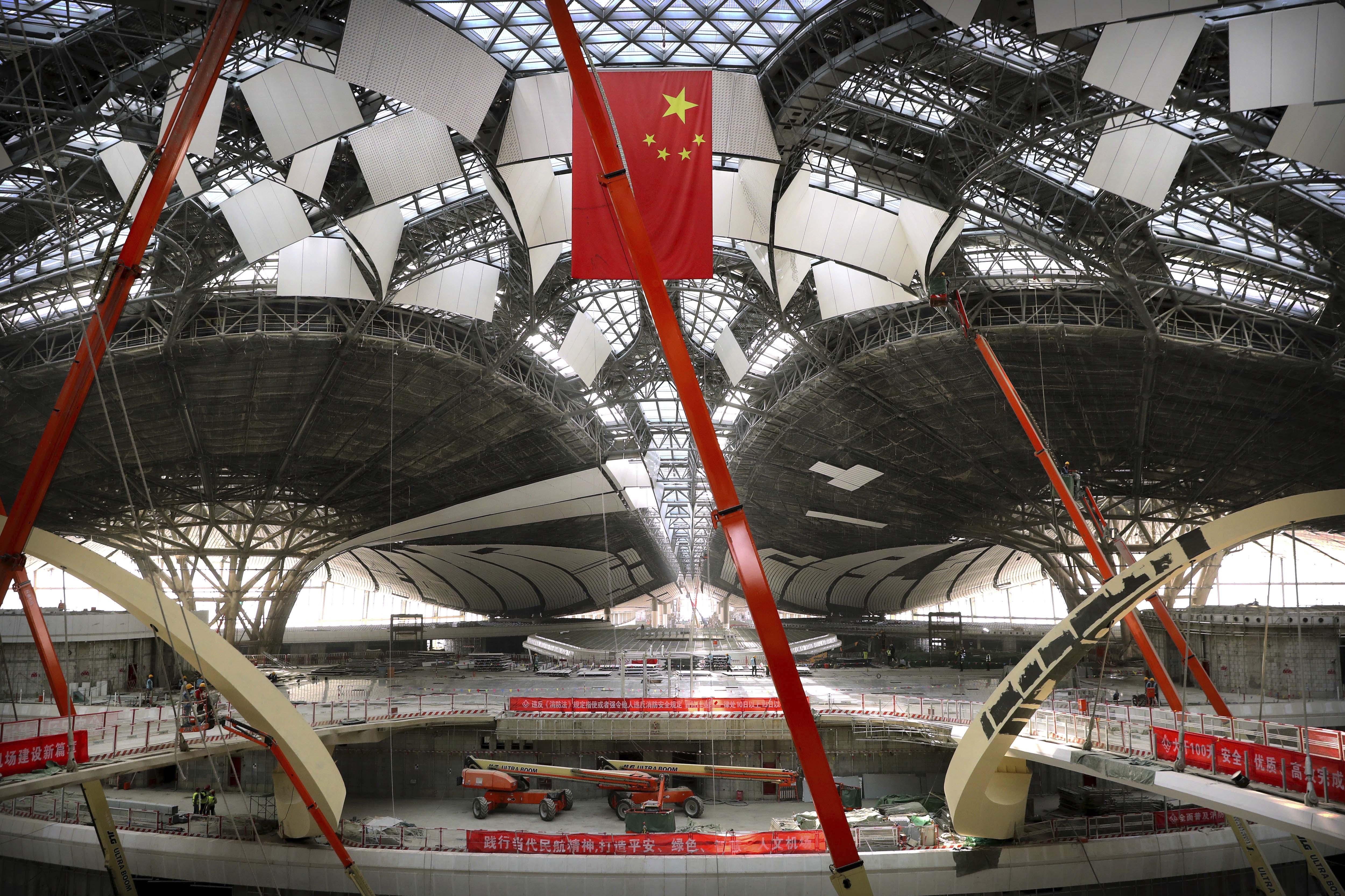 Beijing Daxing International Airport is scheduled to open in 2019