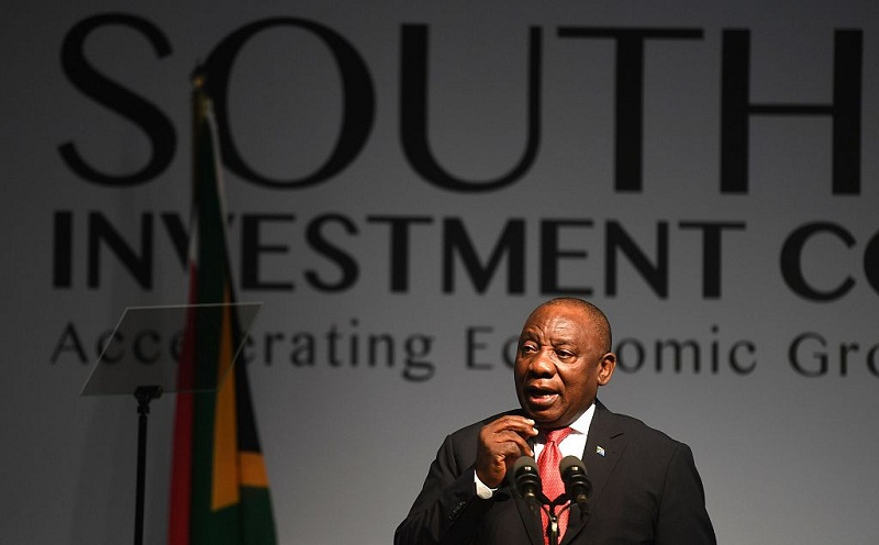 South Africa to receive 20 bln USD in investment in 5 years