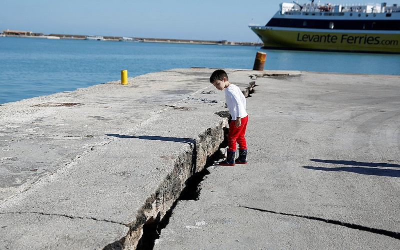 6.4-magnitude quake hits western Greece, no reports of casualties