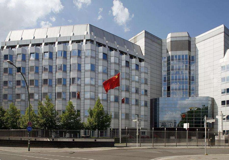 Chinese embassy slams German newspaper report on Taiwan issue