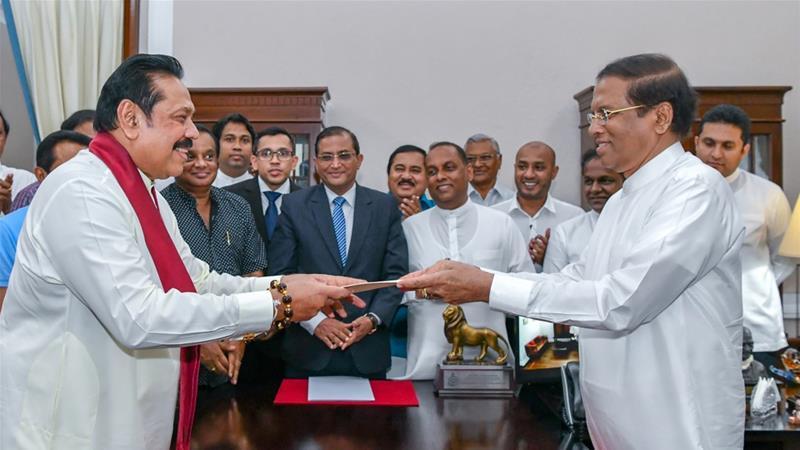 Sri Lanka in political crisis after president sacks PM