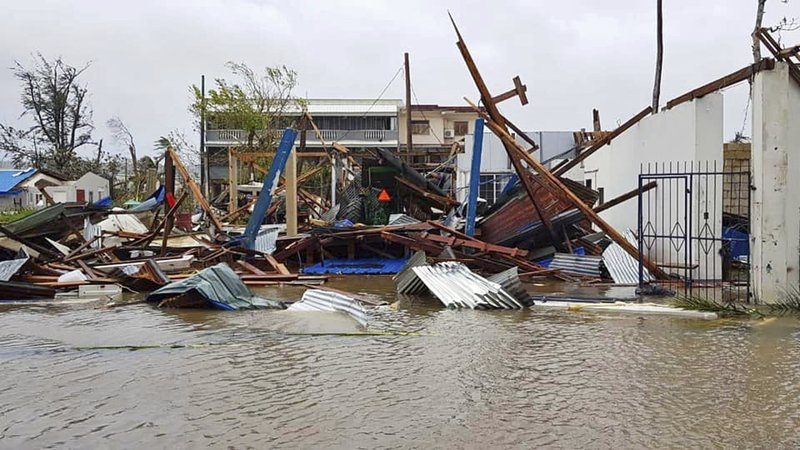 Islanders brace for long recovery in typhoon's aftermath