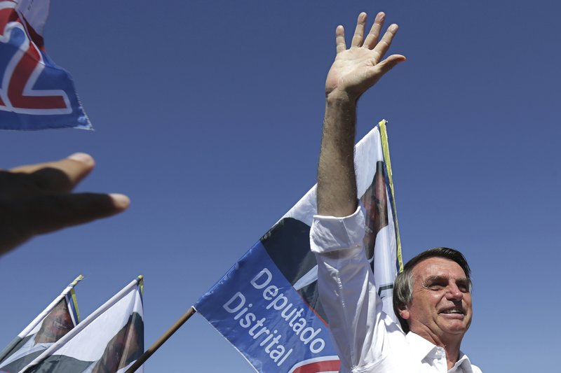 A rise from marginal lawmaker to presidential front-runner