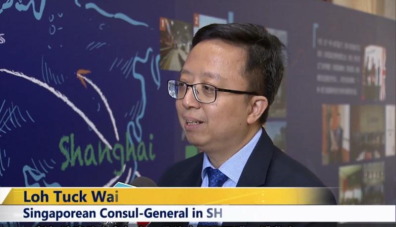 Video: Singaporean Consul-General on Shanghai's import expo