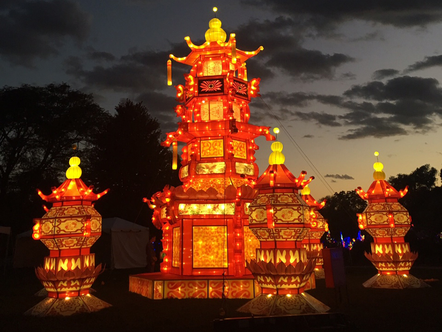 Chinese Lantern Festival held in Wisconsin
