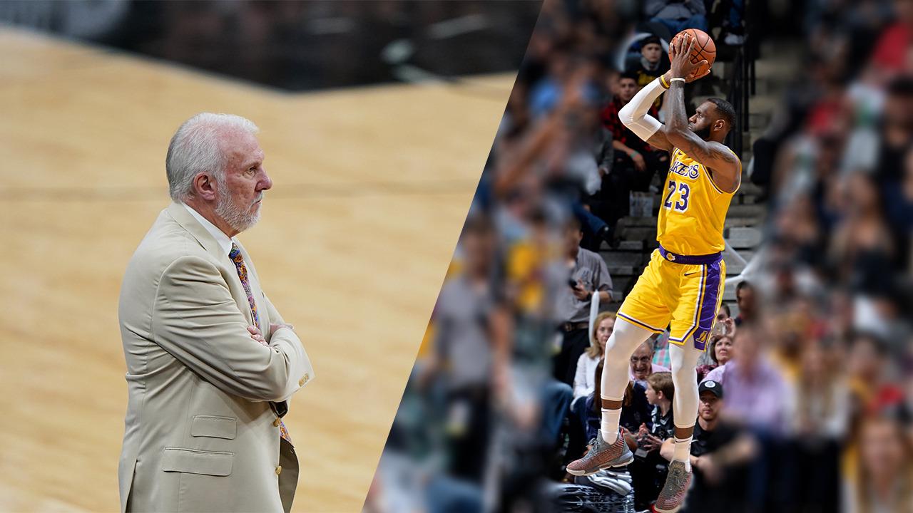 NBA: Popovich nails 1,200th win; LeBron passes Nowitzki's scoring record