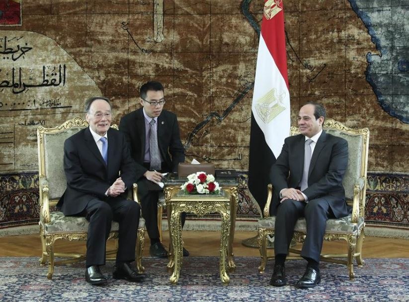China, Egypt agree to boost development cooperation