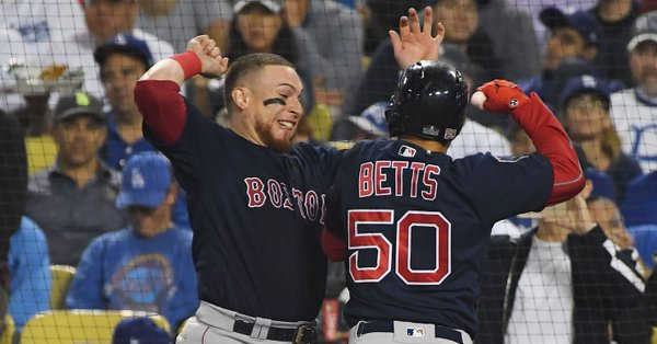 Red Sox throttle Dodgers 5-1 to win World Series