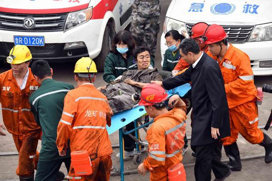 Death toll rises to 21 in east China mine accident