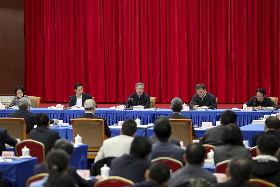 Chinese official stresses importance of Xi's discourses on poverty relief