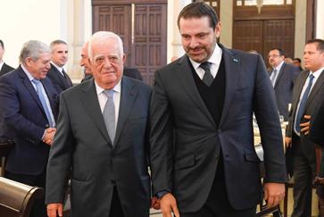 Lebanese bank chief aims at promoting Lebanon at upcoming China's import expo