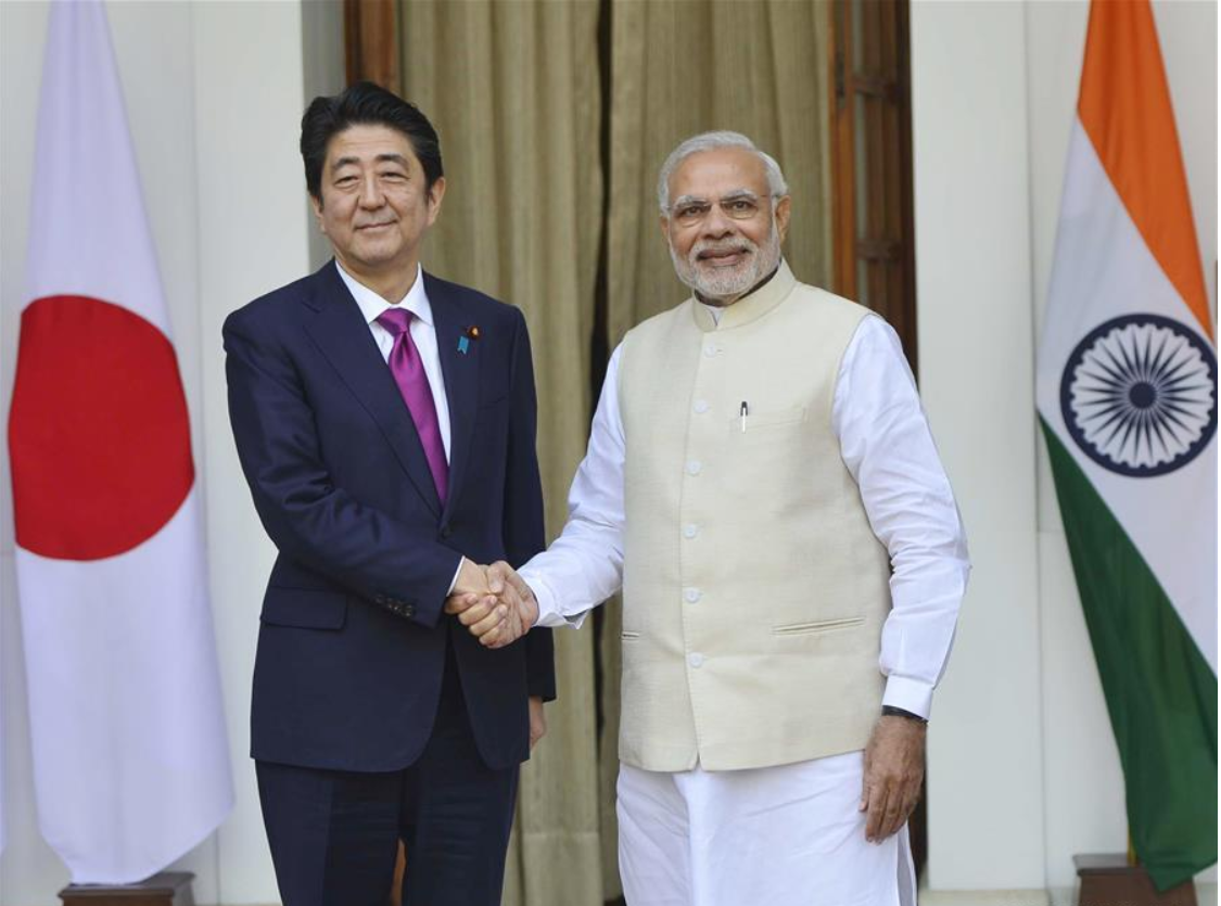 Japan, India to enhance defense, economic cooperation