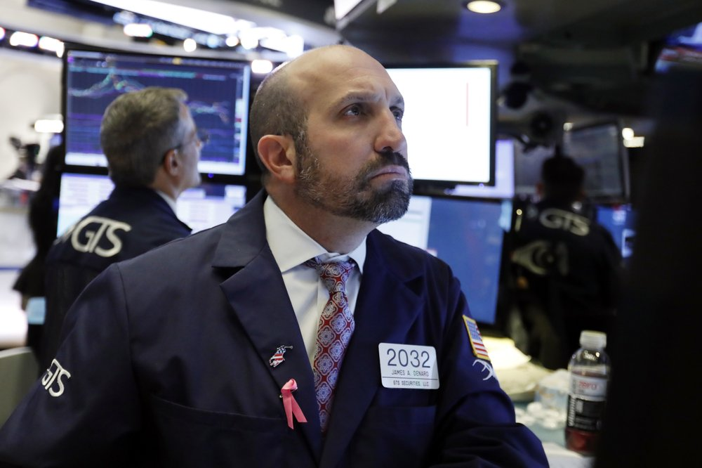 US stocks rise modestly after early rally fades; Amazon sinks