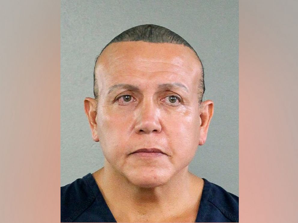 Pipe bomb package suspect Cesar Sayoc had list of over 100 potential targets