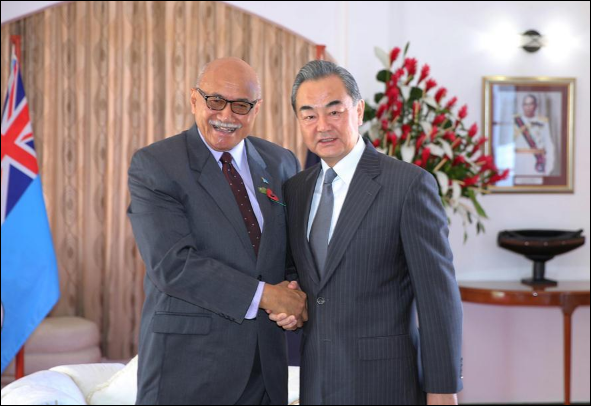 China, Fiji vow to further step up all-round practical cooperation