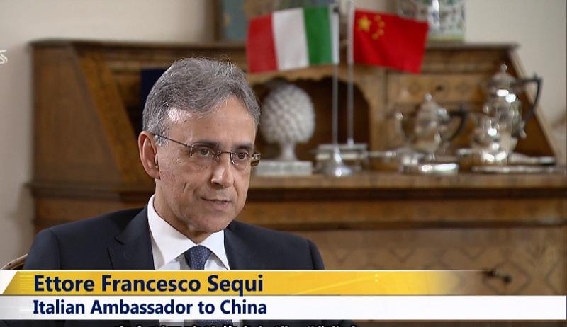 Video: Italian Ambassador to China on Shanghai's import expo