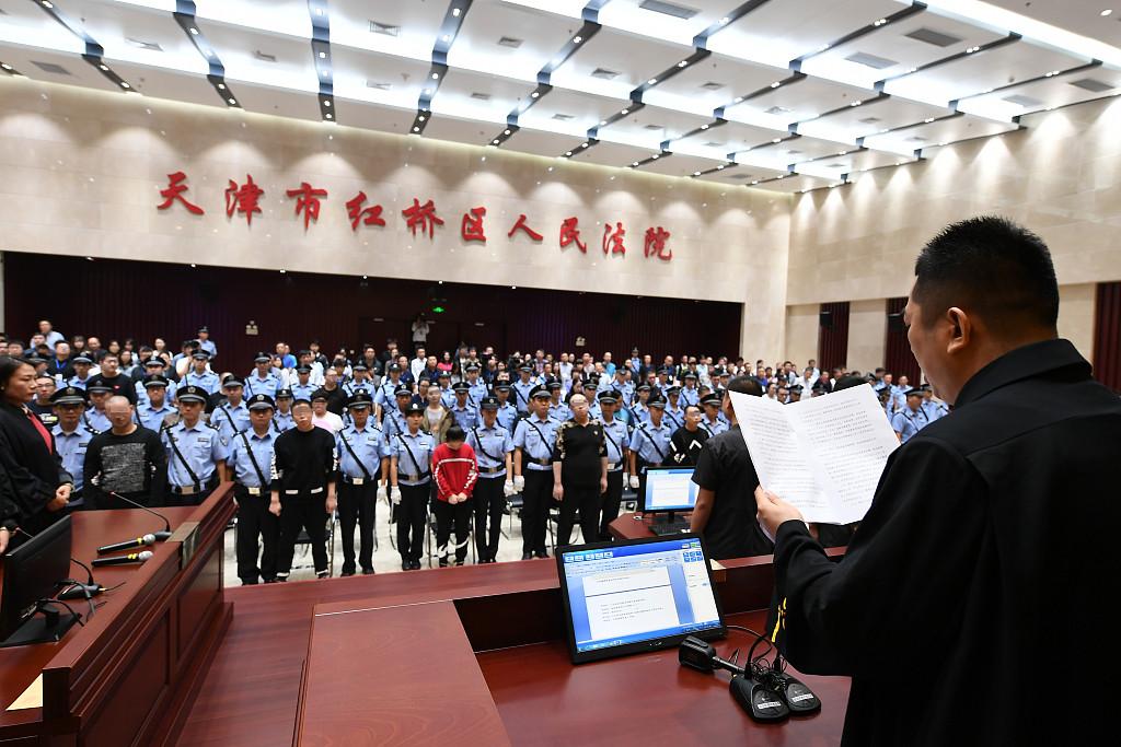 Over 57,000 arrested in gang crackdown from Jan.-Sept.