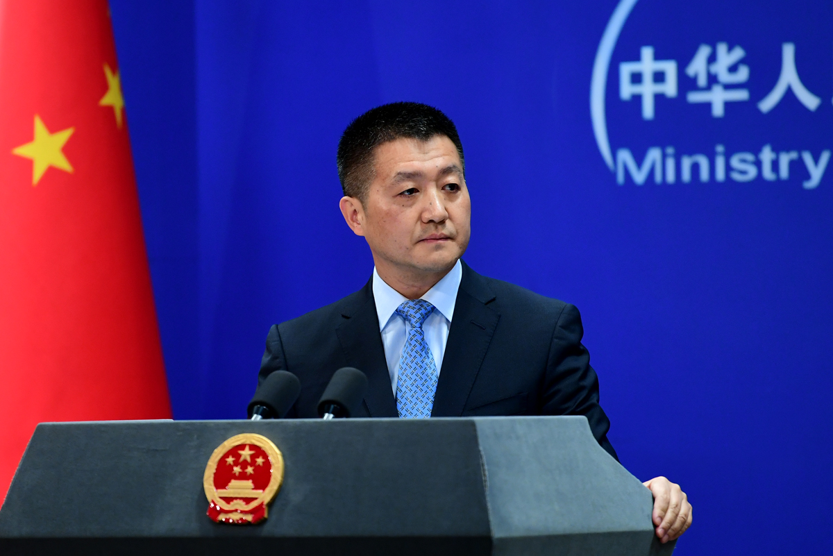 China firmly opposes U.S.-Taiwan military ties: FM