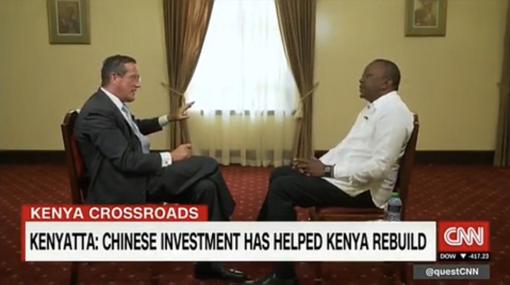 Chinese investment helps Kenya rebuild, Kenyan President tells CNN