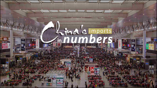 China's imports in numbers: Categories of goods and services