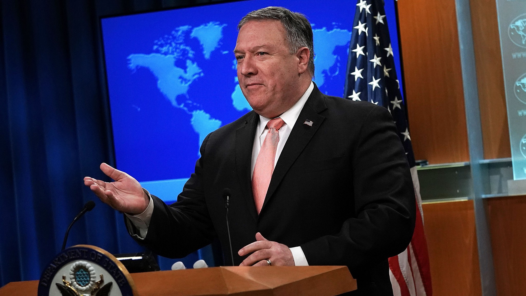 Pompeo likely to meet DPRK counterpart in New York next week: Yonhap