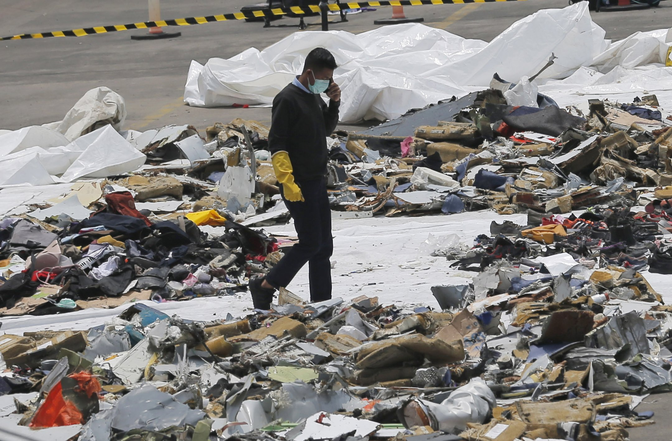 Black box signal of Indonesia's crashed plane detected
