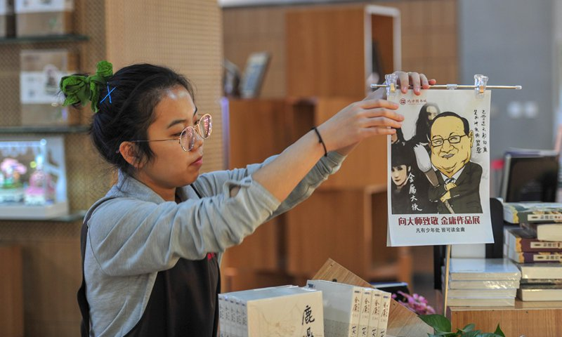 Chinese mourn death of famed Wuxia author