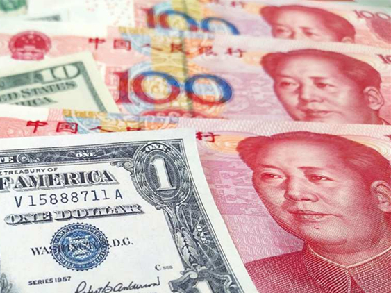 Chinese yuan weakens to 6.967 against USD Thursday