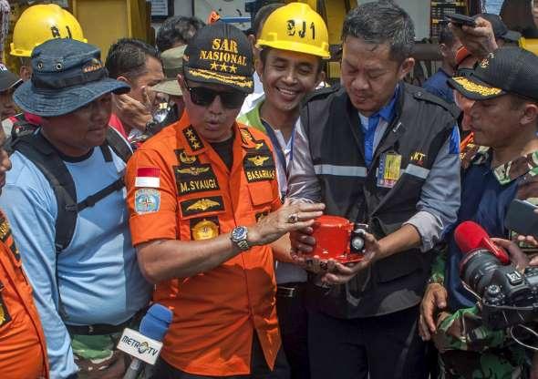Pilot radioed alert on doomed Indonesian jet's previous flight