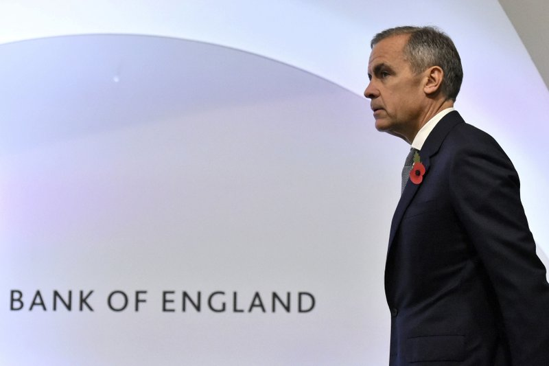 Bank of England warns of economic shock if Brexit talks fail