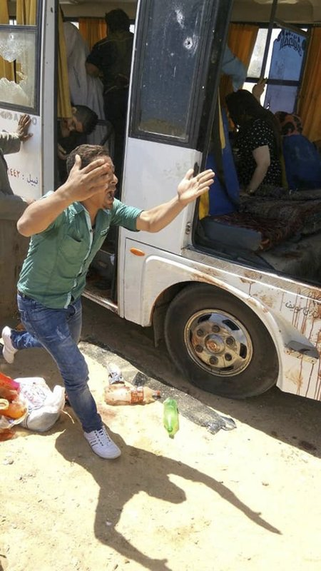 Officials say attack on Christian pilgrims in Egypt kills 7