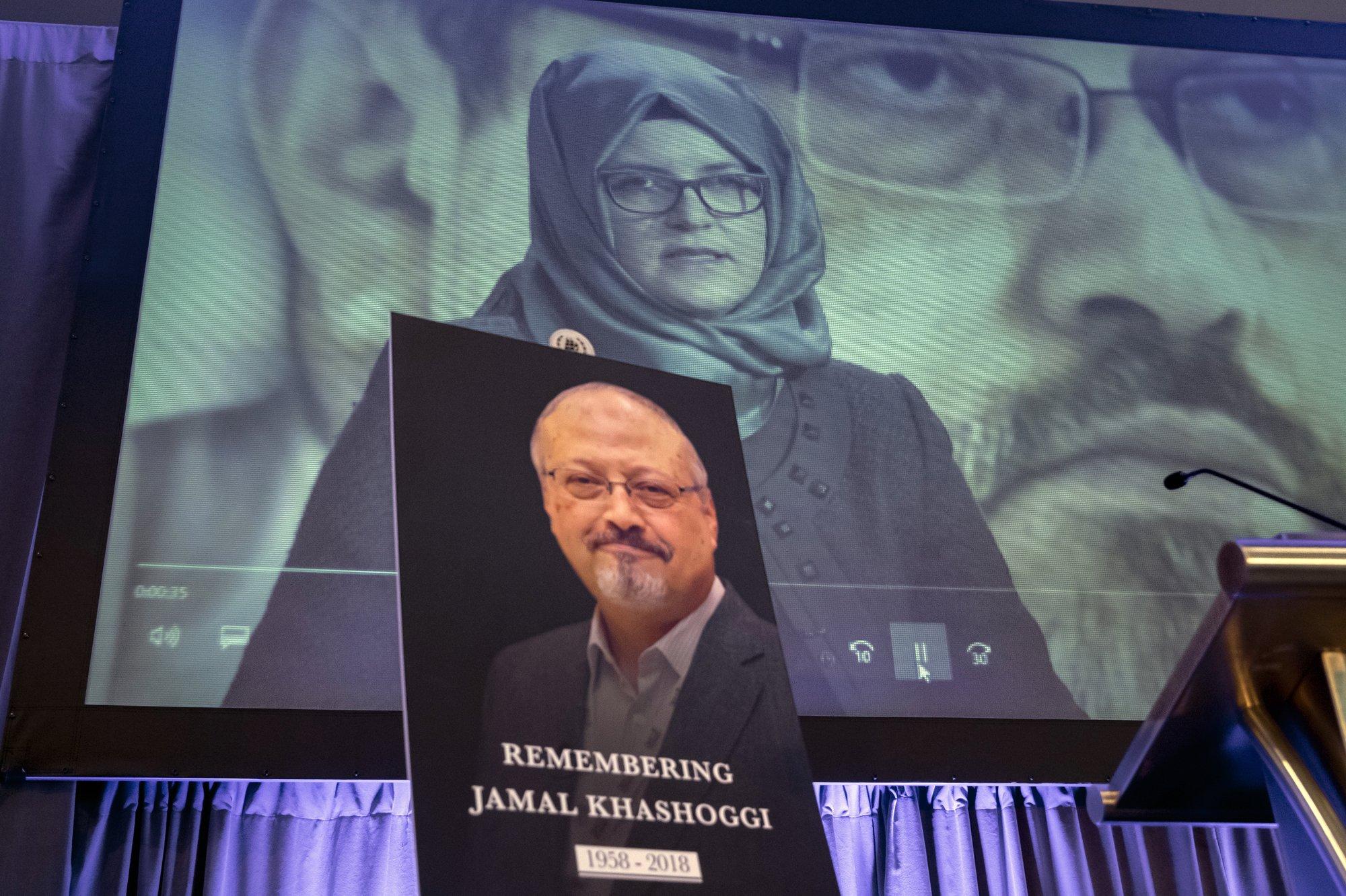 Khashoggi's fiancée asks Trump to press Saudis for his body