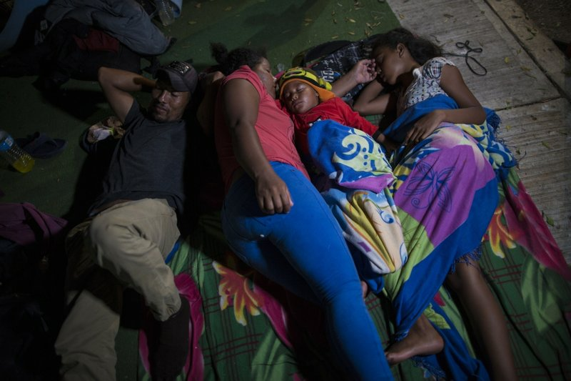 'We have to keep going:' A day with the migrant caravan