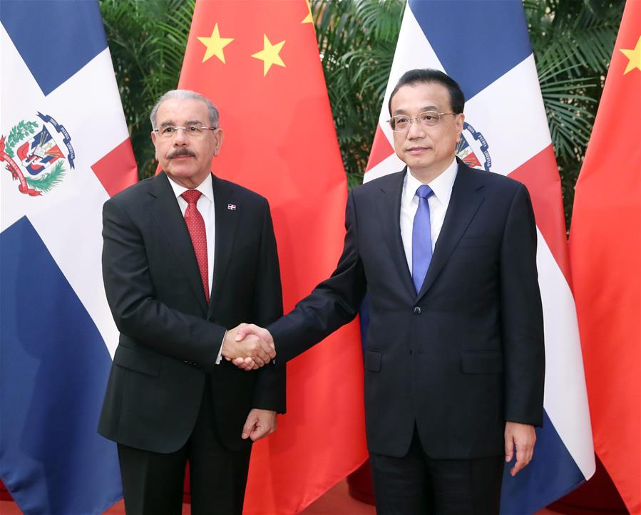 Chinese premier eyes closer ties with Dominican Republic