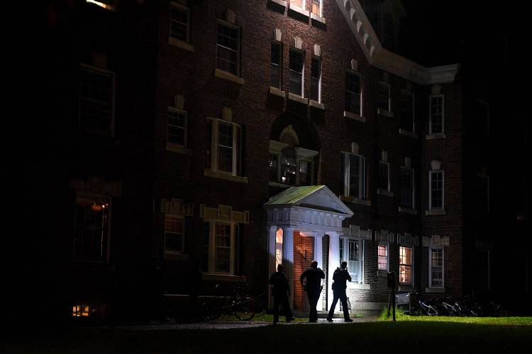 Shooting reported in US Dartmouth College