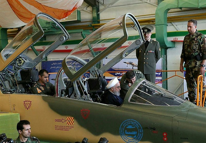 Iran launches fighter jet production line: report