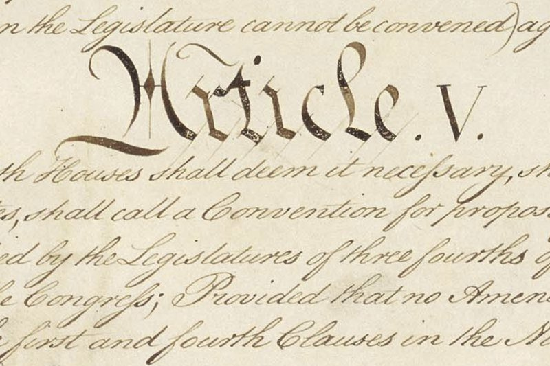 Conventional thinking: Conservatives push new amendments