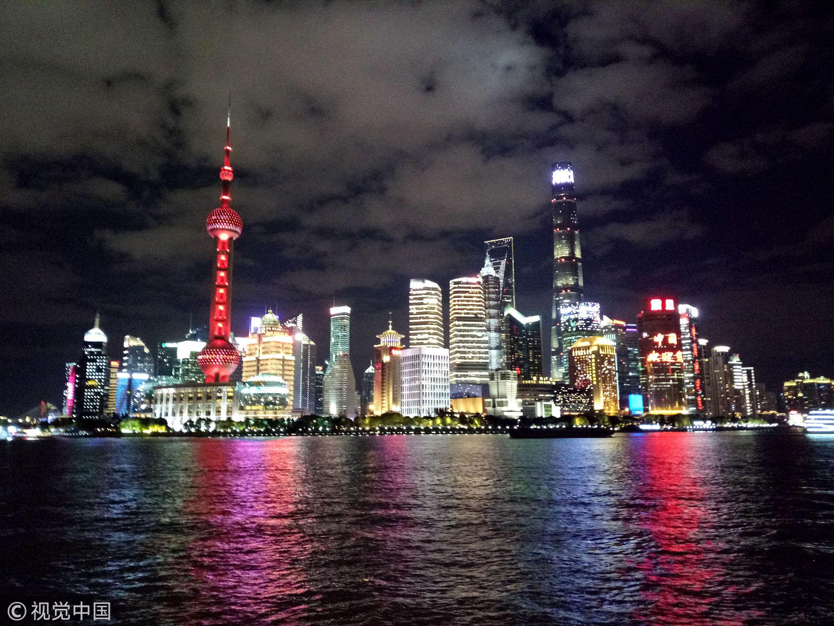 Landscape lighting upgraded in Shanghai for CIIE