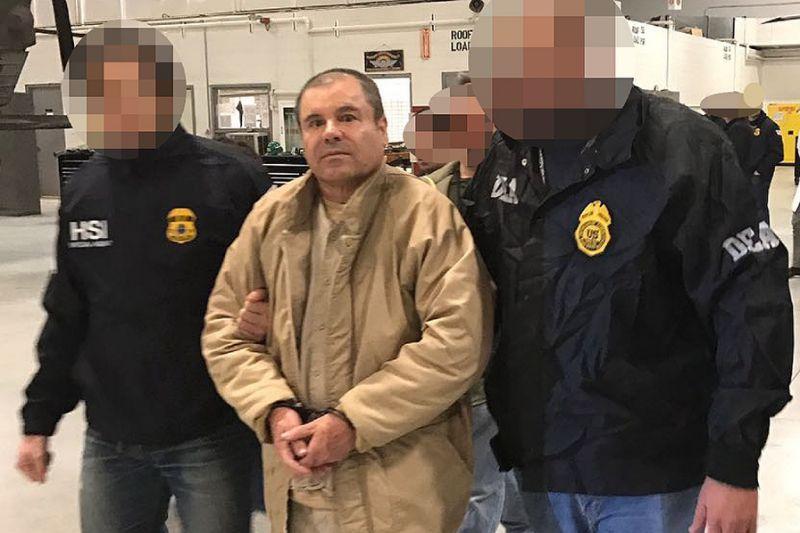 El Chapo in dock for biggest US drugs trial