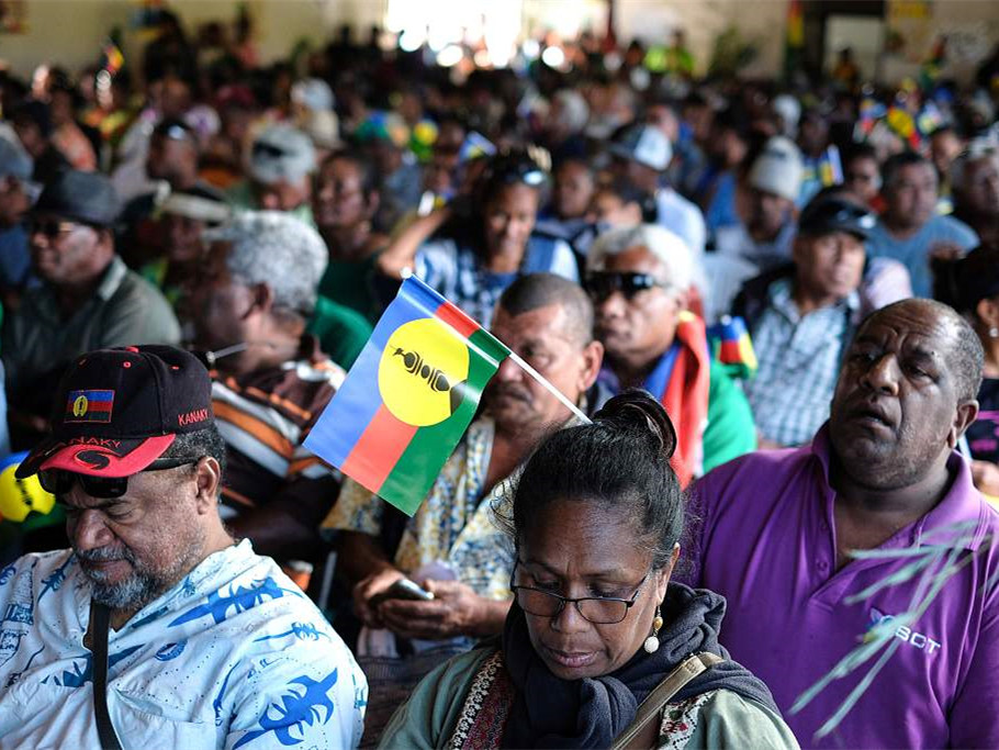 New Caledonia rejects independence from France: report